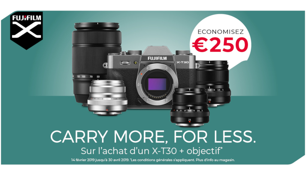 PROMOTION Fujifilm X-T30