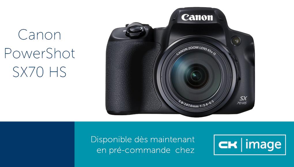 Le nouveau Canon SK70 HS