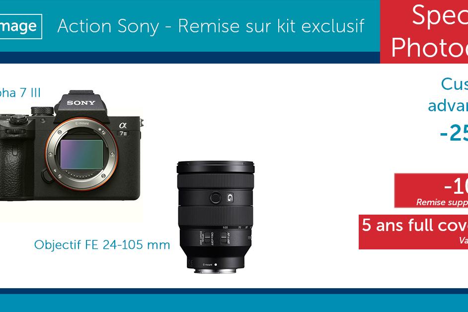 Facebook - Kit exclusif Sony - Photodays