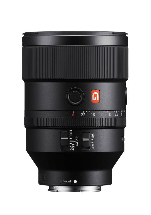 Objectif Sony 135 mm F1.8 G Master