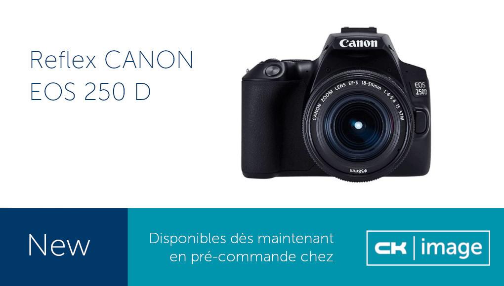 Reflex Canon EOS 250