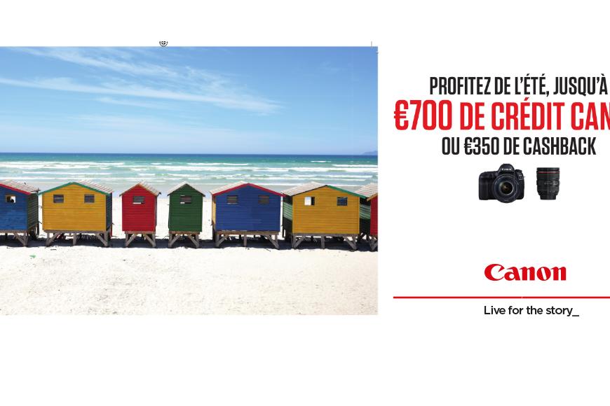 Promo de l'été Canon - Chez CK Image