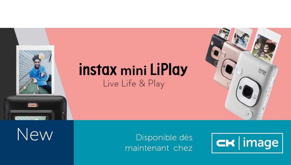 Instax mini LiPlay chez CK Image