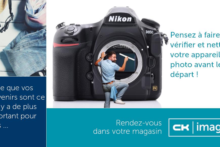 Nettoyage capteurs appareils photos - CK image